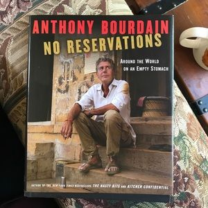 Anthony Bourdain No Reservations preowned book